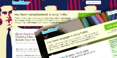 Turkish journalists' Tarkan Tweets