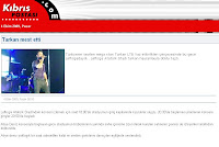 Screencap of report