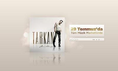 Screencap of Tarkan.com update