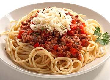 Zona Norte: perfecto para todos Espagueti-bolonesa