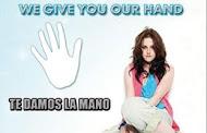 Te damos la mano!