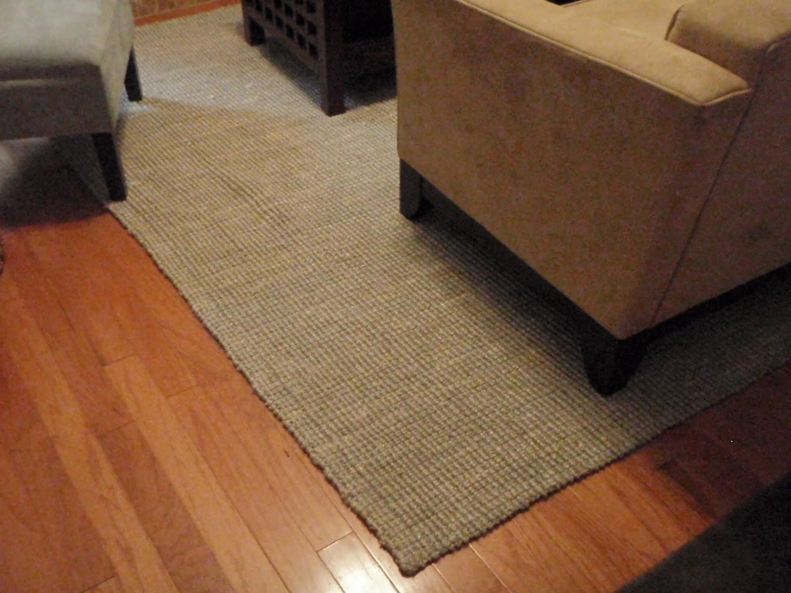 ... A Year Old 8x10 West Elm Jute Bouclé Rug For $50 (retail: $199), I Had  To Check It Out! It Was In Perfect Condition And Destined To Come Home With  Me.