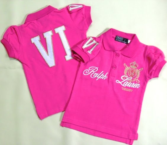 RALPH LAUREN GIRLS SHIRT-PINK