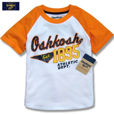 OSHKOSH SHIRT - orange..