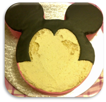 Cake Minnie Mouse Template : Just Baking: ::Minnie Mouse Cake:: and a little tutorial