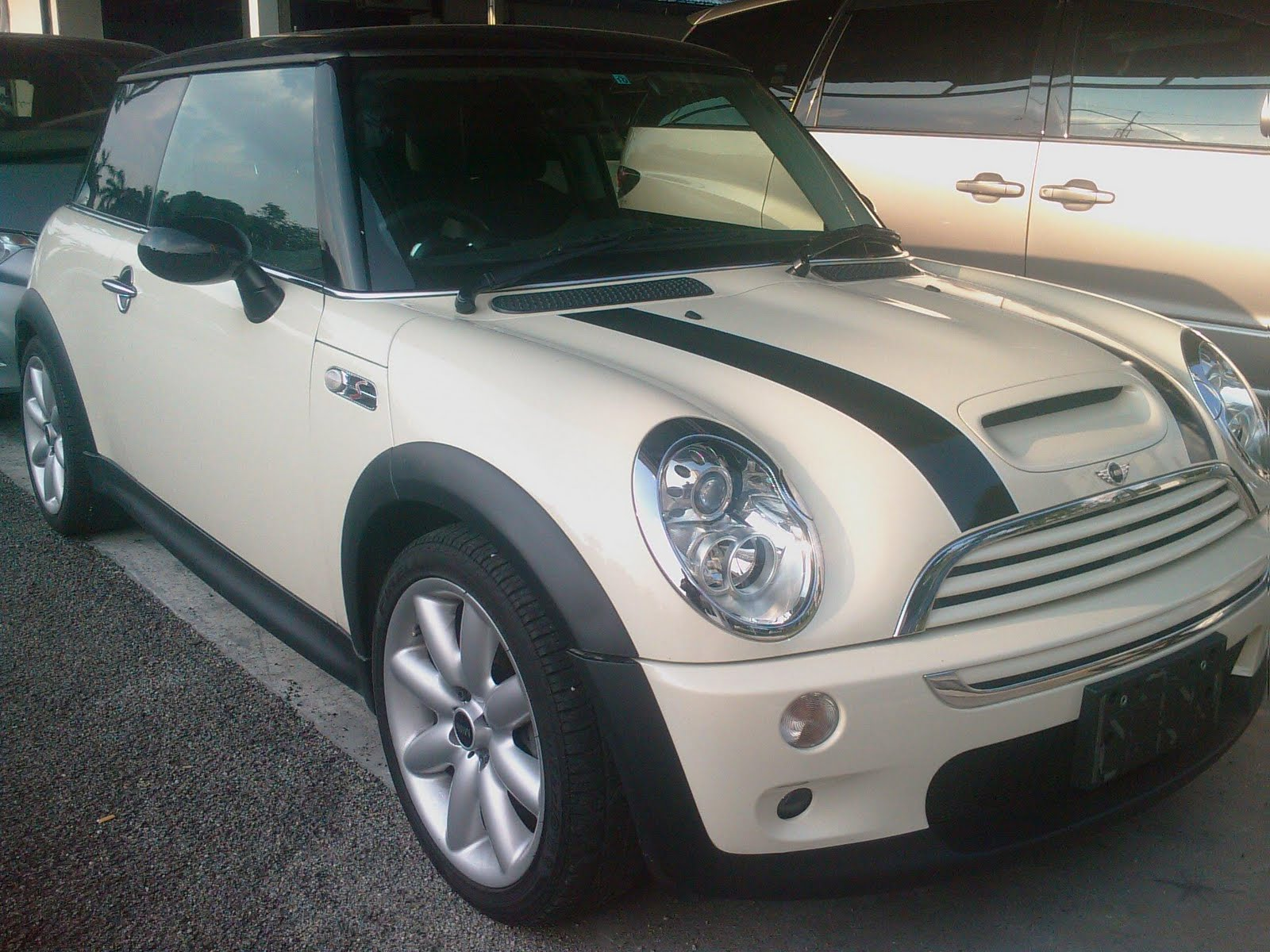 automobiles importers of prestige mini cooper s manual unregistered 2005. Black Bedroom Furniture Sets. Home Design Ideas