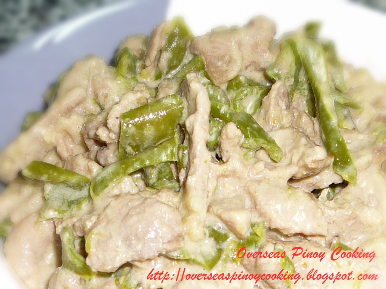 how to cook bicol express recipe