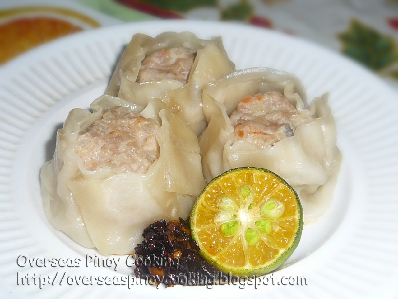 how to cook siomai panlasang pinoy