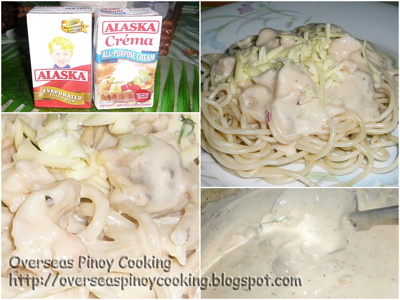 how to cook seafood pasta in white sauce