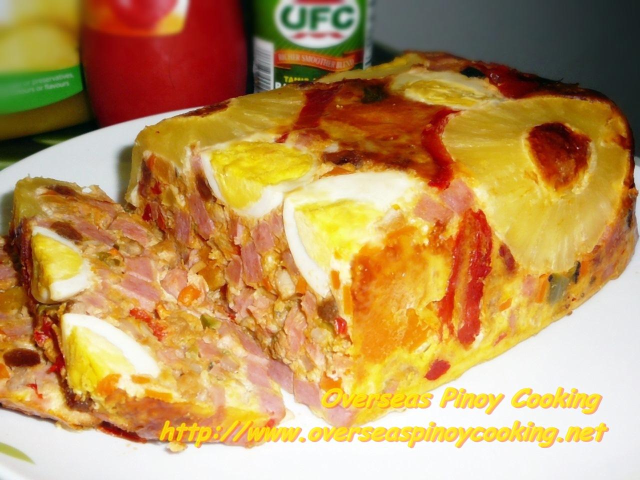 Overseas Pinoy Cooking Christmas Hardinera Lucban