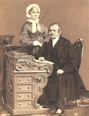Sognepræst Würzen og frue - klik for større billede