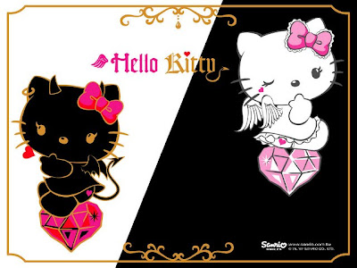 hello kitty devil. Hello Kitty: Angel ou Devil?