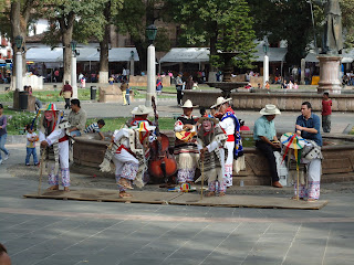 Dance of the Little Old Men in Patzcuaro