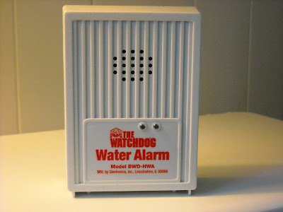 Use a water alarm to prevent floods