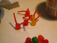 DIY cupcake bugs