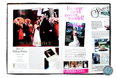 Featured in Real Weddings Magazine 4