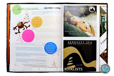 Featured in Real Weddings Magazine 6