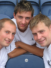 Dave, Matt & Pete during the 116 Challenge