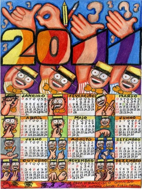 Calendário 2011 - Goulão