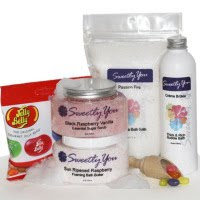 Candy Scented body lotions,Sweetly You bath and lotions review