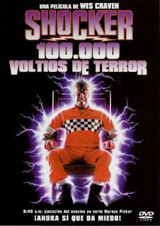 Shocker: 100.000 voltios de terror dirigida por Wes Craven
