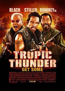 Tropic Thunder dirigida por Ben Stiller