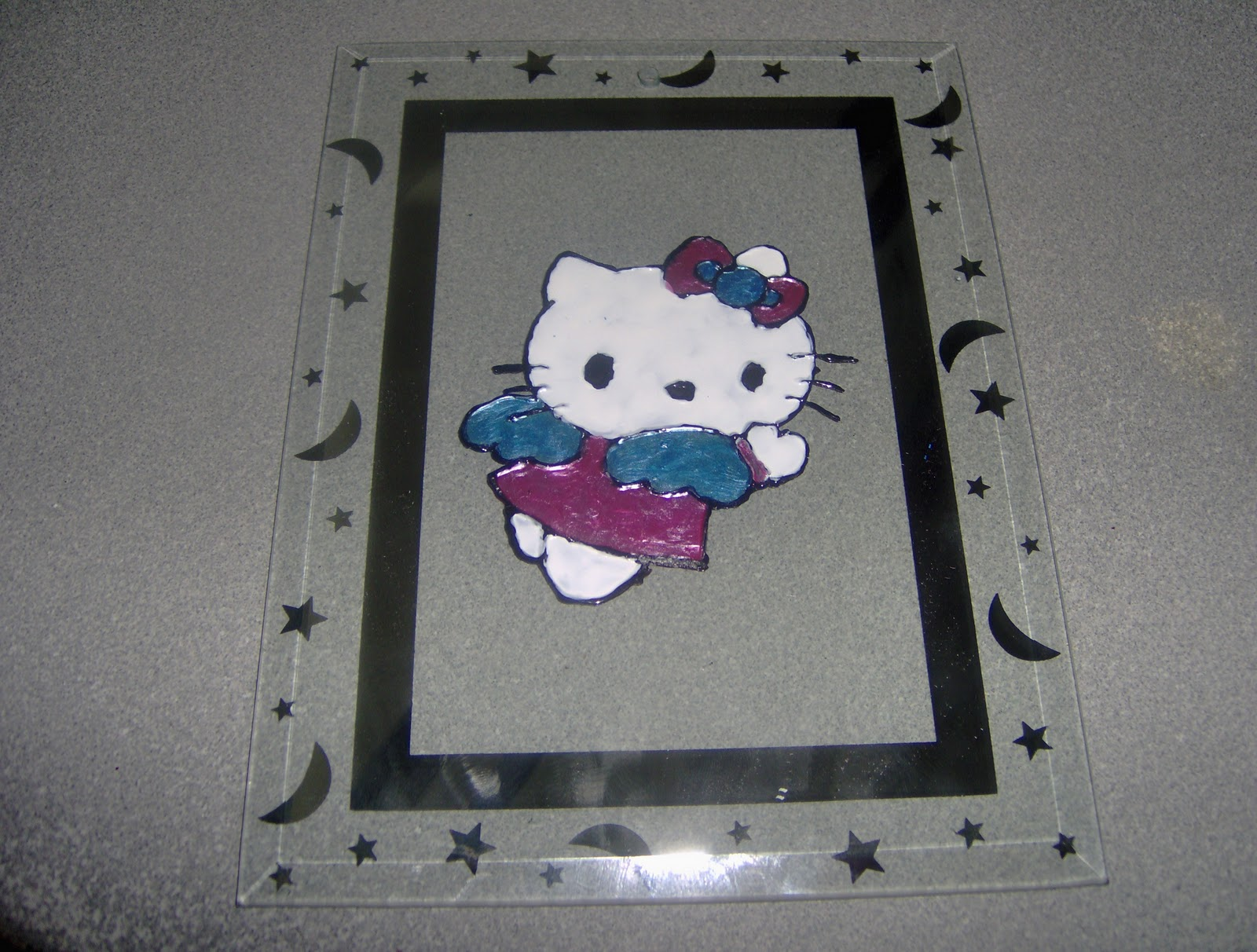 El rinconcito de alicia cuadros en vidrio elige tu - Vidrio plastico para cuadros ...