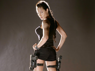 Angelina Jolie in tom raider