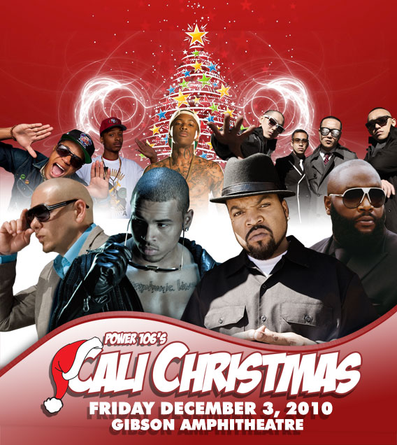 cali christmas 2010 with chris brown ice cube rick ross e 40 too hort and more