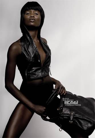 black model shot on white background, photographer gilbert rossi shooting black model for modelling portfolio