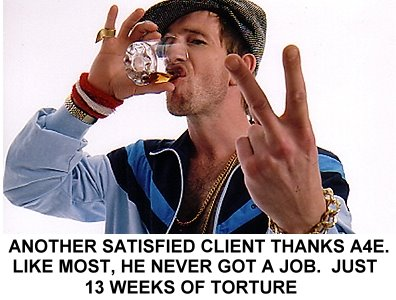 Satisfied client thanks A4e