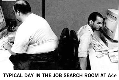 Job search room at A4e