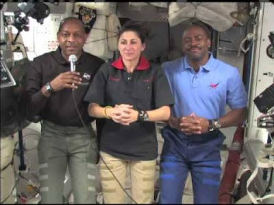 NASA Astronauts on the International Space Station