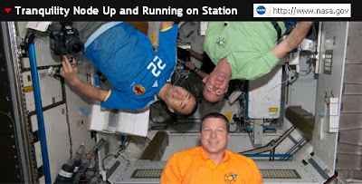 Astronauts on the ISS