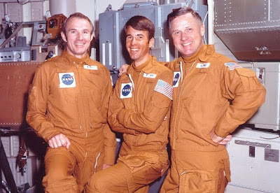 Astronaut Bill Lenoir