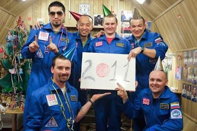 Happy New Year From Mars500