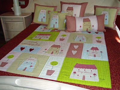 El patchwork es mi mundo colcha tilda - Colchas de lujo ...