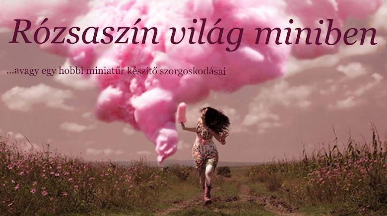 Rózsaszín világ miniben