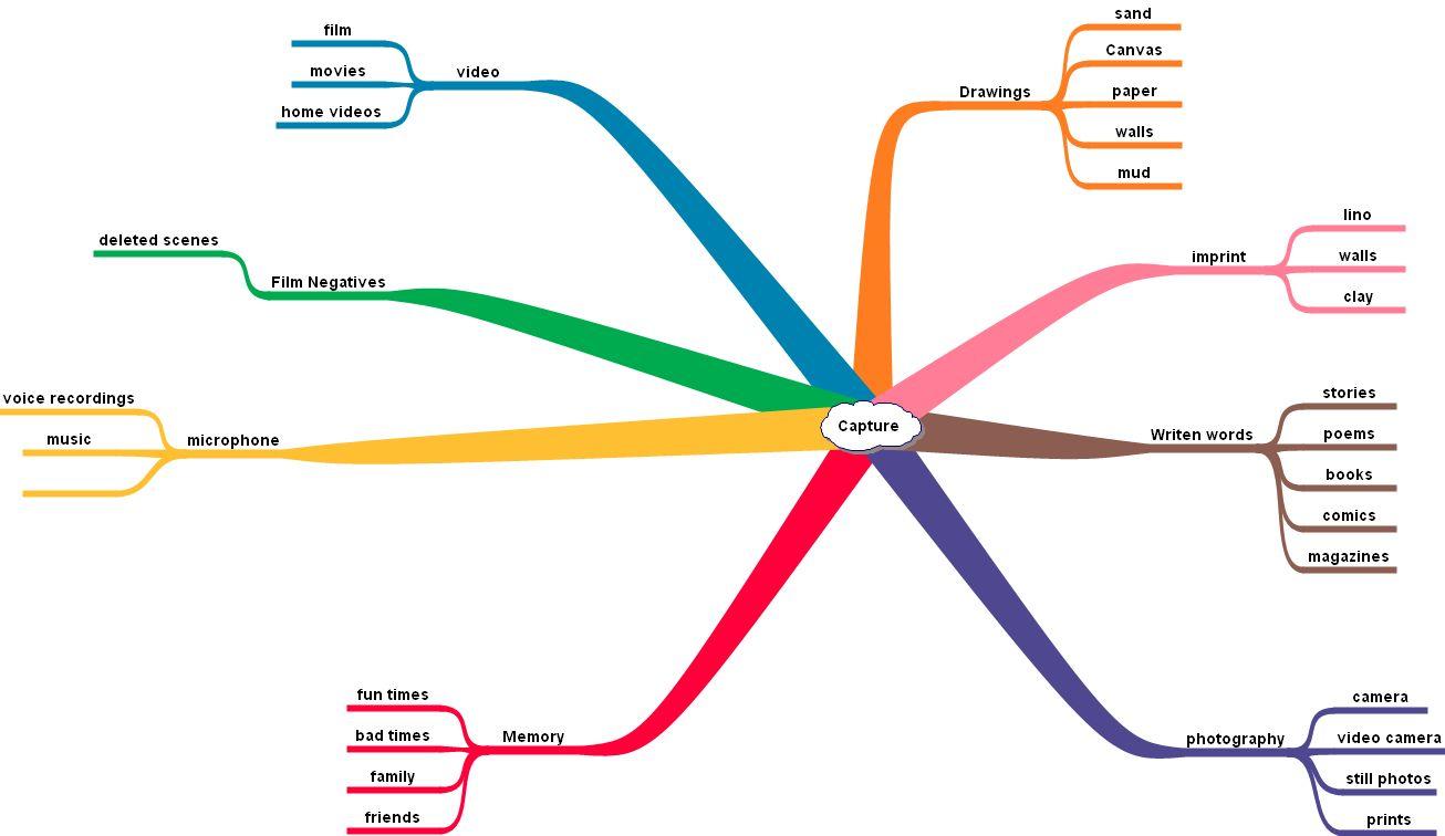 capture  spider diagramspider diagram