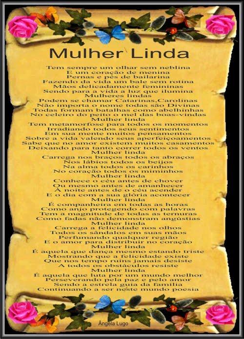 Mulher Linda (Dia Internacional da Mulher)
