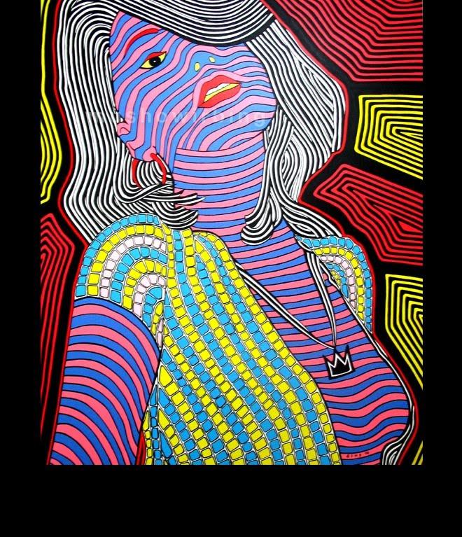 acrylic on canvas 140cm X 170cm