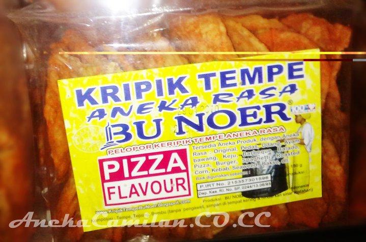 Keripik Tempe Noer Rasa Pizza