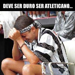 Deve ser duro ser atleticano ,Conversa de um Cruzeirense e Atleticano, zuando Cruzeirense, zuando os atleticanos, zuando o rival, Atlético tomando goleada histórica