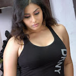 Tamil Actress Namitha In Black Tight Outfit