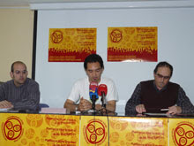 Miembros d'a coordinadora Aragón ye trilingüe