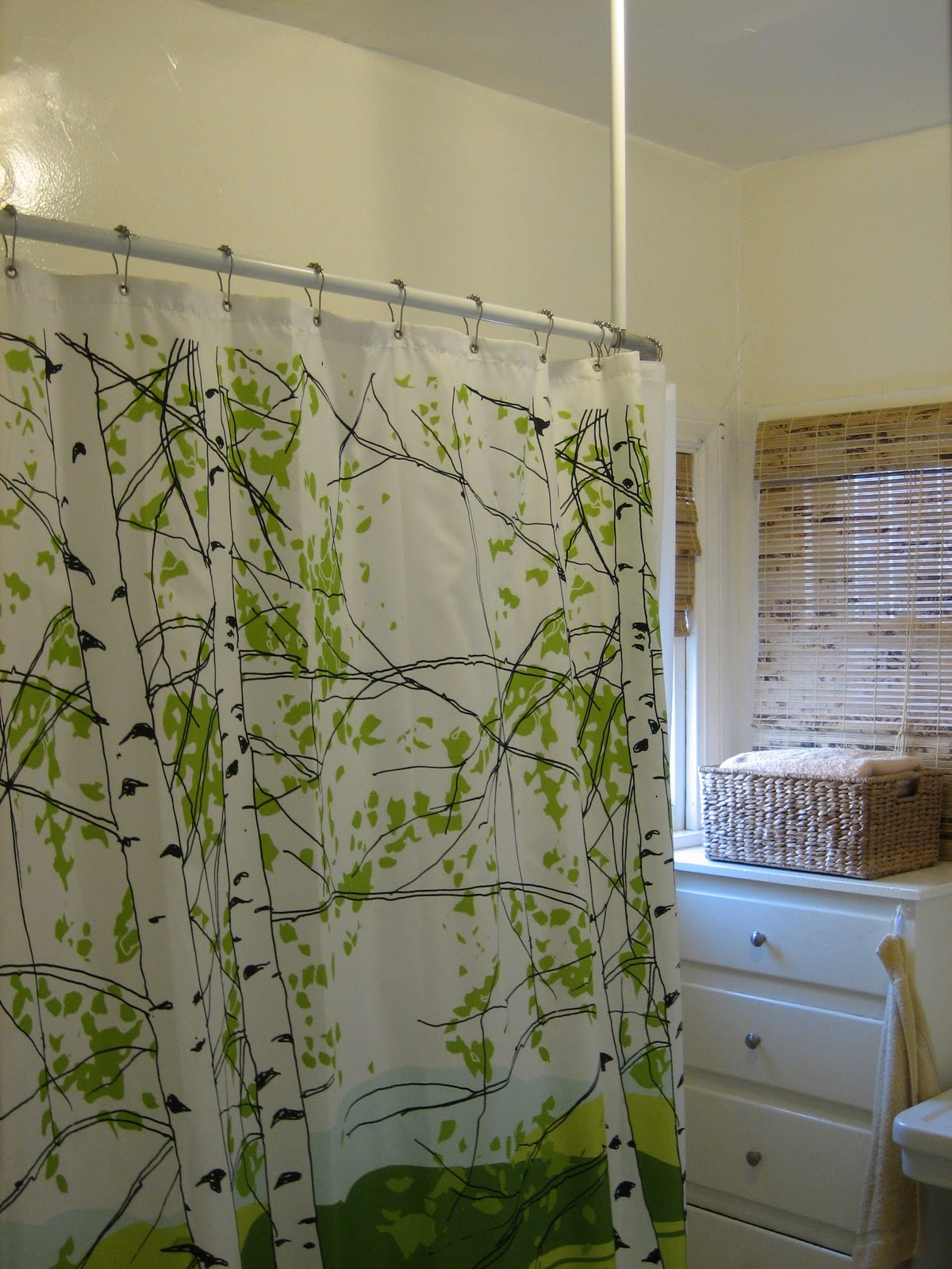 Beautiful Abodes: Shower Curtains, Turning A Bathroom Into More ...