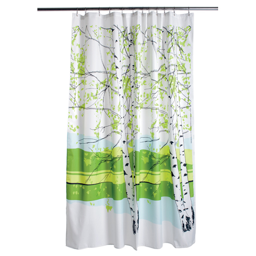 Beautiful Abodes Shower Curtains Turning A Bathroom Into
