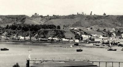 Cerro Miramar y calle *Anjelmó* en 1924
