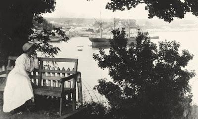 Mirador en la Quinta Hoffmann (Isla Tenglo-1915)