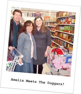 the duggars 2011. Amelia Meets The Duggars!